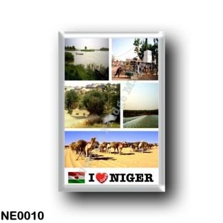 NE0010 Africa - the Niger - I Love