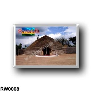 RW0008 Africa - Rwanda - Nyanza Mwami Palace