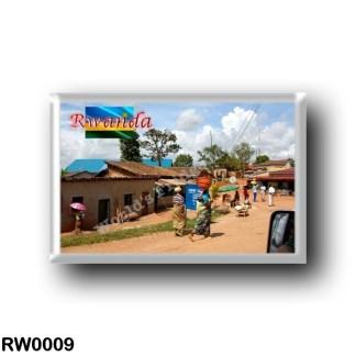 RW0009 Africa - Rwanda - Road between Kigali and Butare