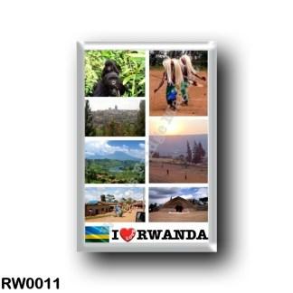 RW0011 Africa - Rwanda - I Love