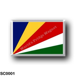 SC0001 Africa - Seychelles - Flag