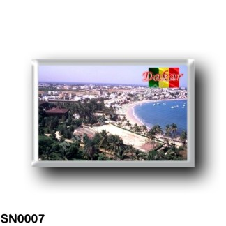 SN0007 Africa - Senegal - Dakar - Panorama