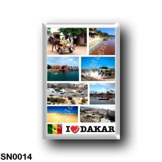 SN0014 Africa - Senegal - I Love
