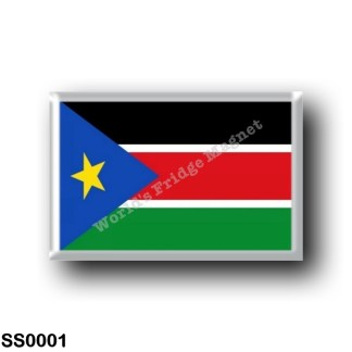 SS0001 Africa - South Sudan - Flag