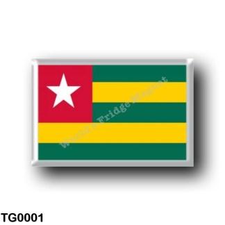 TG0001 Africa - Togo - Flag