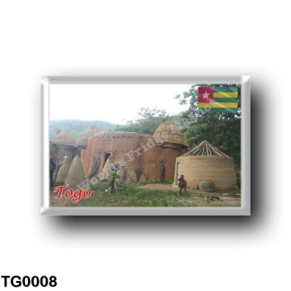 TG0008 Africa - Togo - Taberma House