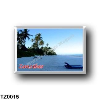 TZ0015 Africa - Tanzania - Zanzibar - East coast beach
