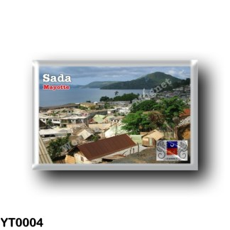 YT0004 Africa - Mayotte - A view of Sada including mosque