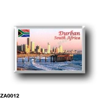 ZA0012 Africa - South Africa - Durban - Skyline Crop