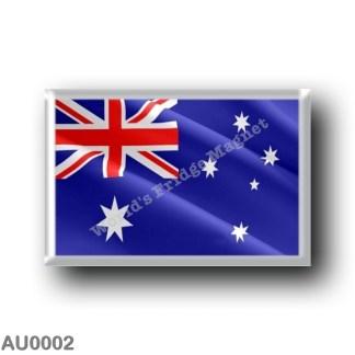 AU0002 Oceania - Australia - Australian Waving Flag