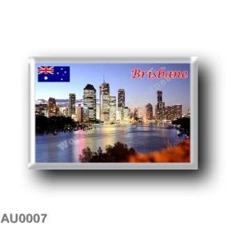 AU0007 Oceania - Australia - Brisbane - By Night