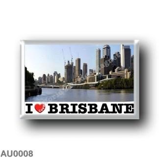 AU0008 Oceania - Australia - Brisbane - I Love
