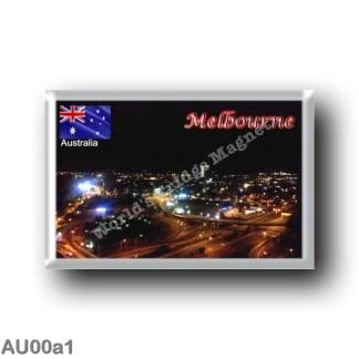 AU00a1 Oceania - Australia - Melbourne By Night