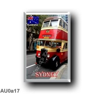AU0a17 Oceania - Australia - Sydney - The Bus