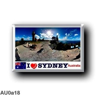 AU0a18 Oceania - Australia - Sydney - Palm Beach I Love