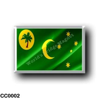 CC0002 Oceania - Cocos (Keeling) Islands - Flag Waving