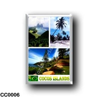 CC0006 Oceania - Cocos (Keeling) Islands - Mosaic