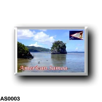 AS0003 Oceania - American Samoa - Fatu Rock