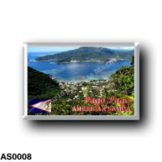 AS0008 Oceania - American Samoa - Pago Pago - Harbor