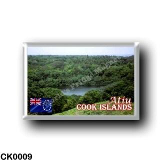 CK0009 Oceania - Cook Islands - Atiu - Lake Tiroto