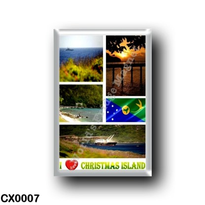 CX0007 Oceania - Christmas Island - I Love