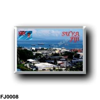 FJ0008 Oceania - Fiji - Suva City - Walu Bay Industrial