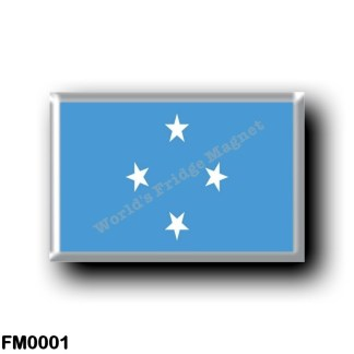 FM0001 Oceania - Federated States of Micronesia - Flag