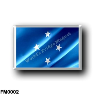 FM0002 Oceania - Federated States of Micronesia - Flag Waving