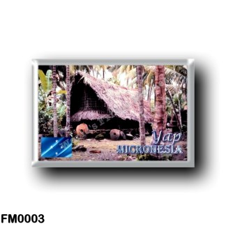 FM0003 Oceania - Federated States of Micronesia - Yap - Palau House