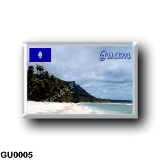 GU0005 Oceania - Guam - Beach