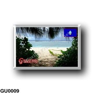 GU0009 Oceania - Guam - Ritidian Beach