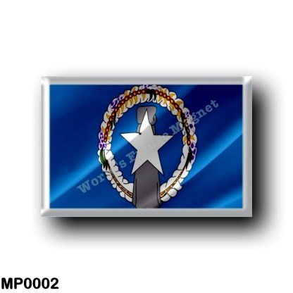 MP0002 Oceania - Northern Mariana Islands - Flag Waving