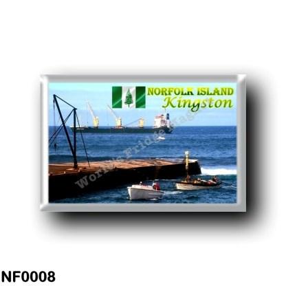 NF0008 Oceania - Norfolk Island - Kingston - The Port