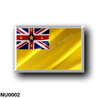 NU0002 Oceania - Niue - Flag Waving