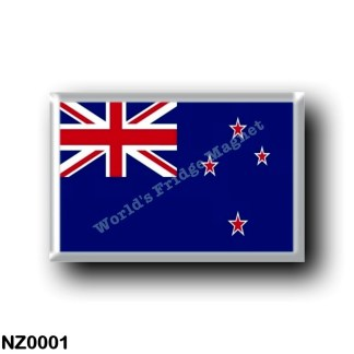 NZ0001 Oceania - New Zealand - Bandiera - flag