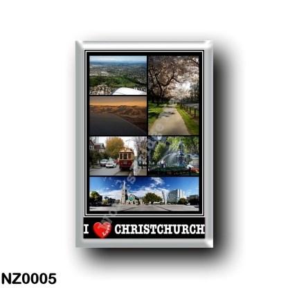 NZ0005 Oceania - New Zealand - Christchurch - I Love