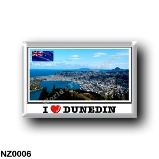 NZ0006 Oceania - New Zealand - Dunedin - I Love