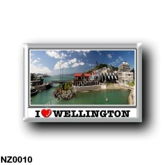 NZ0010 Oceania - New Zealand - Wellington - I Love