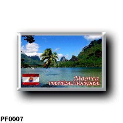 PF0007 Oceania - French Polynesia - Moorea Baie Cook