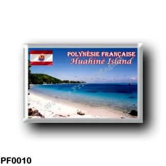 PF0010 Oceania - French Polynesia - Huahiné Island - Plage d'Avea