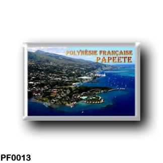 PF0013 Oceania - French Polynesia - Papeete - Panorama