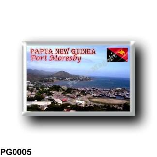 PG0005 Oceania - Papua New Guinea - Port Moresby