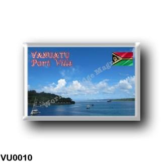 VU0010 Oceania - Vanuatu - Port Vila - Natural Harbour