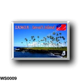 WS0009 Oceania - Samoa - Savai'i Island - Pagoa Waterfall