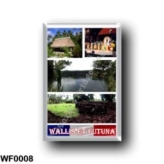 WF0008 Oceania - Wallis and Futuna - Mosaic