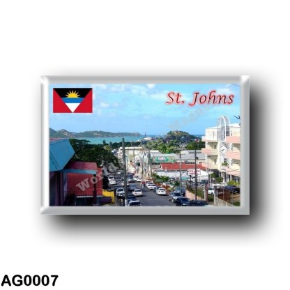 AG0007 America - Antigua and Barbuda - Saint Johns - Street