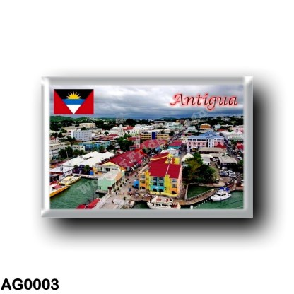 AG0003 America - Antigua and Barbuda - Antigua