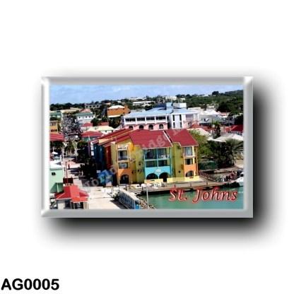 AG0005 America - Antigua and Barbuda - Saint Johns