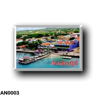 AN0003 America - Netherlands Antilles - Kralendijk