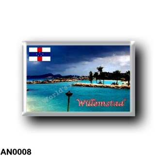 AN0008 America - Netherlands Antilles - Willemstad Panorama